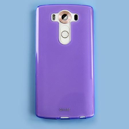 FlexiShield LG V10 Gel Case - Purple