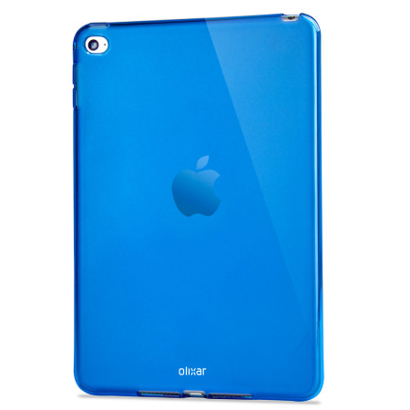 FlexiShield iPad Mini 4 Gel Case - Blue