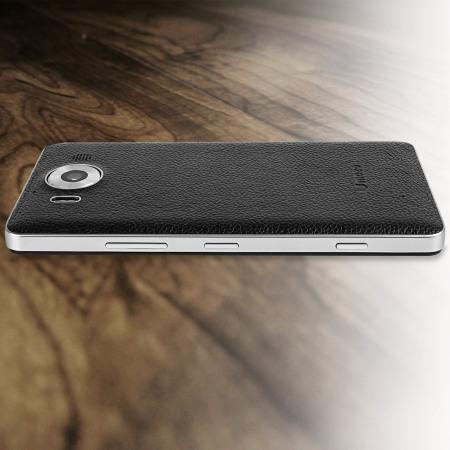 Reboli mozo microsoft lumia 950 wireless charging back cover black price