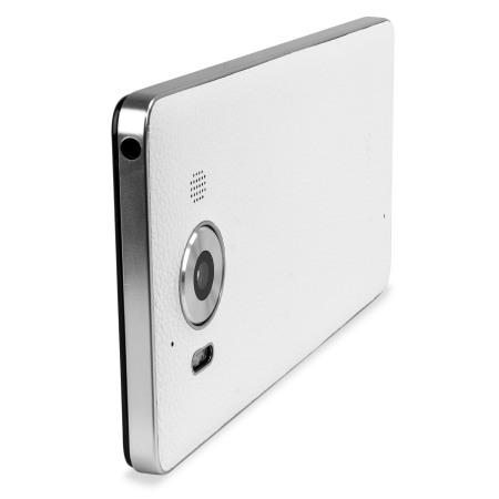 Mozo Microsoft Lumia 950 Wireless Charging Back Cover - White