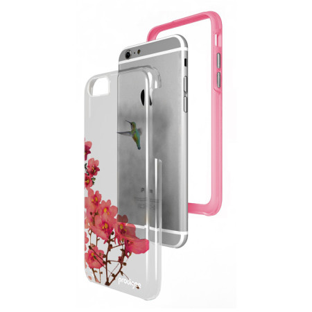 prodigee show dual layered designer iphone 6s 6 case blossom