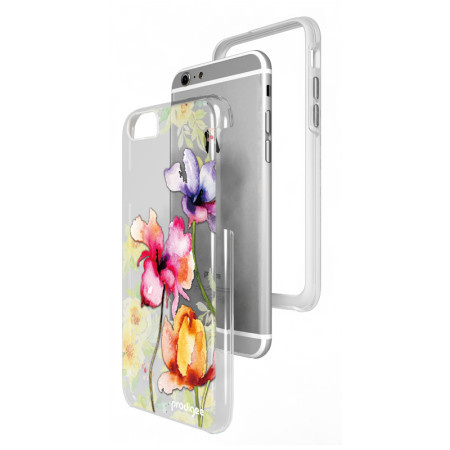 don't prodigee show dual layered designer iphone 6s 6 case blossom