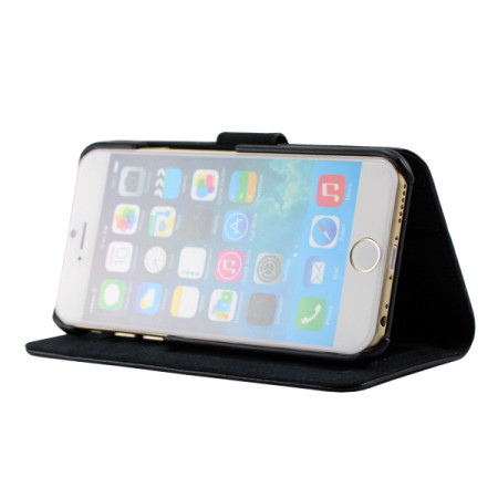 Prodigee Wallegee iPhone 6S Plus / 6 Plus Wallet Case - Black