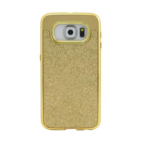 Prodigee Sparkle Fusion Samsung Galaxy S6 Glitter Case - Gold
