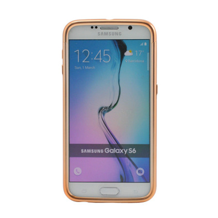 Prodigee Sparkle Fusion Samsung Galaxy S6 Glitter Case - Rose Gold