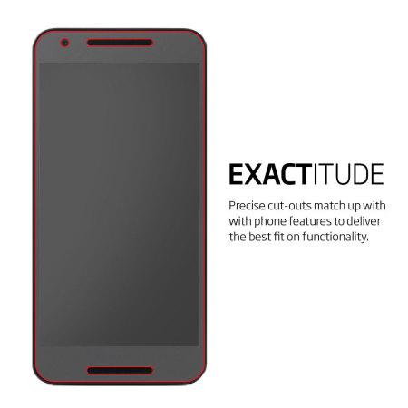 Spigen Crystal Nexus 5X Screen Protector - Three Pack