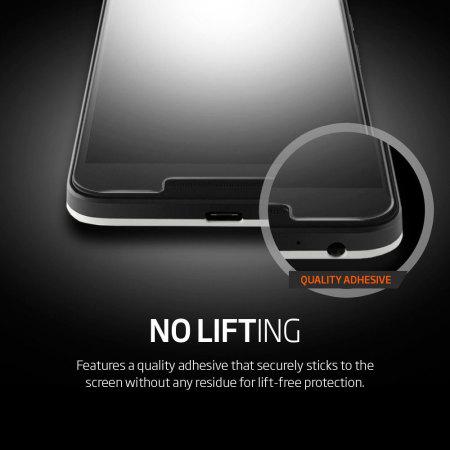 Spigen GLAS.tR SLIM Nexus 5X Tempered Glass Screen Protector