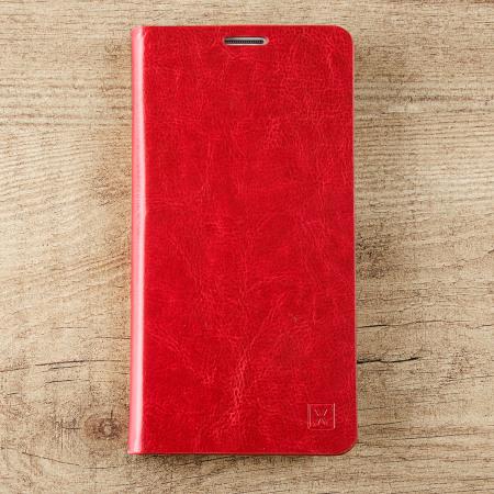 developers olixar leather style lg v10 wallet stand case red Mobile TITAN Max