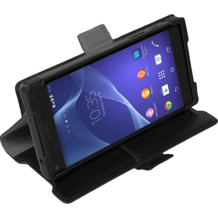 Krusell Ekero Sony Xperia Z5 Compact Folio Wallet Case - Black