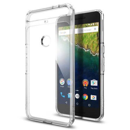 Spigen Ultra Hybrid Nexus 6P Case - Crystal Clear