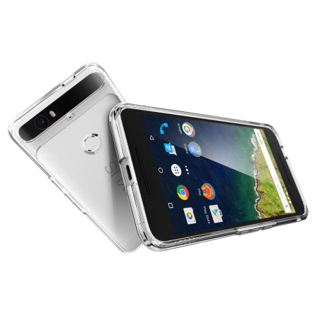 Verizon spigen ultra hybrid nexus 6p case crystal clear couple things
