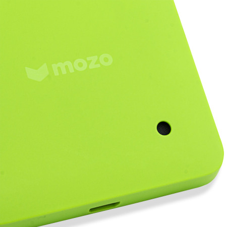 Mozo Microsoft Lumia 550 Back Cover Case - Green