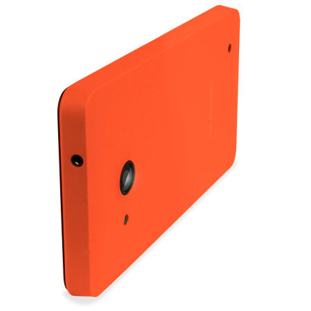 Mozo Microsoft Lumia 550 Back Cover Case - Orange