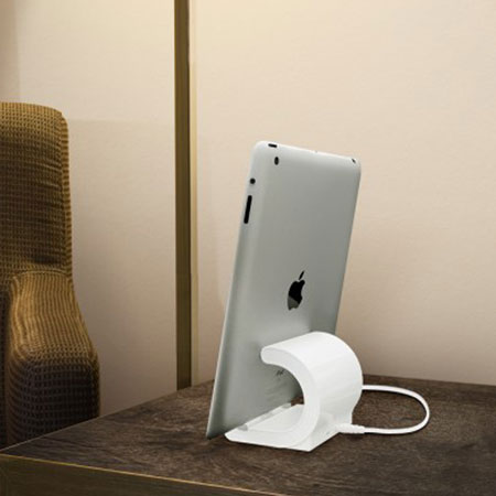 macally lightning sync charge desktop dock with uk mains