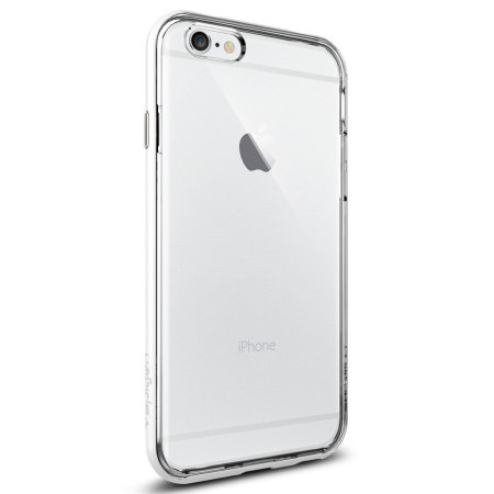 couple spigen neo hybrid ex iphone 6s 6 bumper case shimmery white xperia zte