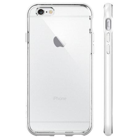 main features spigen neo hybrid ex iphone 6s 6 bumper case shimmery white