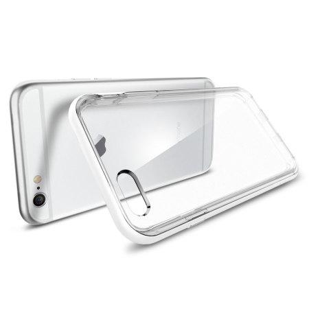 Spigen Neo Hybrid Ex iPhone 6S / 6 Bumper Case - Shimmery White