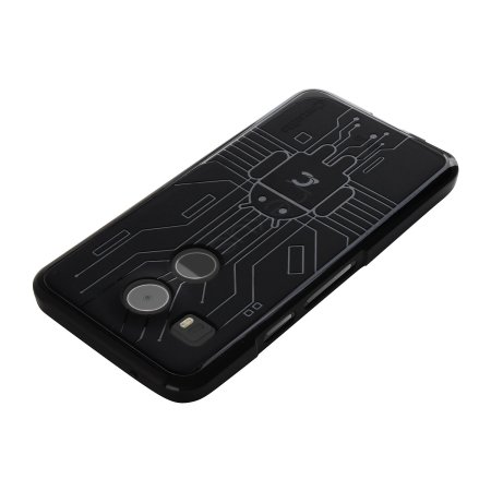 cruzerlite bugdroid circuit case for google nexus 5 black