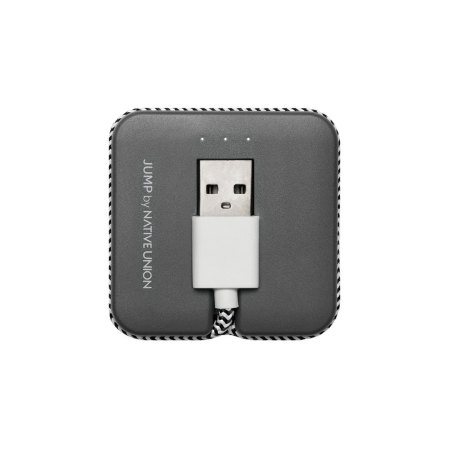 Native Union Jump MFi Lightning Cable & Charger - Grey