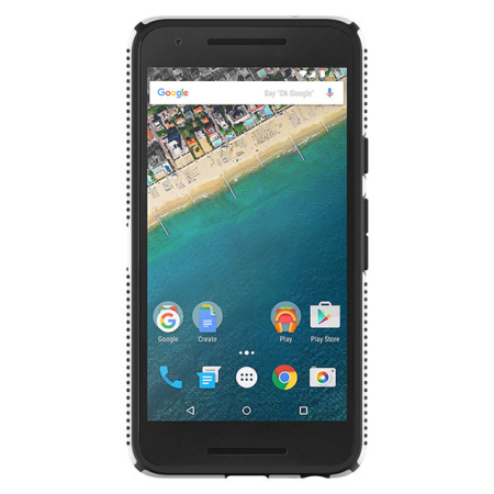 Speck CandyShell Grip Nexus 5X Case - White/Black