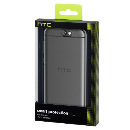 Official HTC One A9 Clear Shield Case - 100% Clear