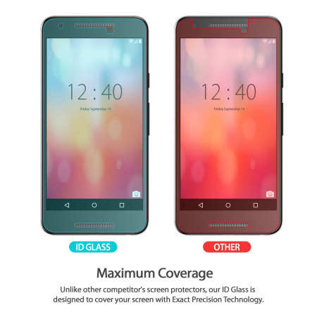 Rearth Invisible Defender Nexus 5X Tempered Glass Screen Protector