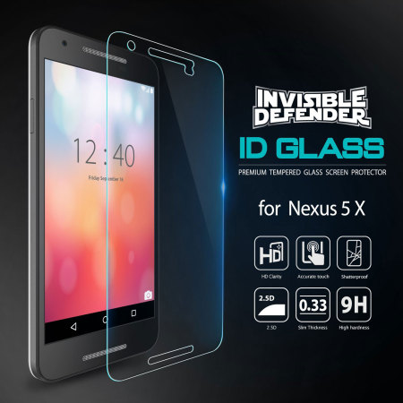 the rearth invisible defender nexus 5x tempered glass screen protector Thanks