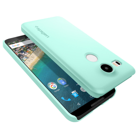 Spigen Thin Fit Nexus 5X Shell Case - Mint