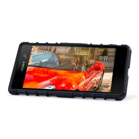 Olixar Armourdillo Hybrid Sony Xperia M5 Protective Case - Black