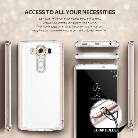 Rearth Ringke Fusion LG V10 Case - Crystal View