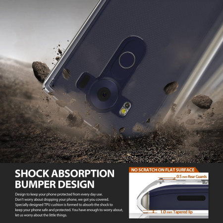 Rearth Ringke Fusion LG V10 Case - Smoke Black