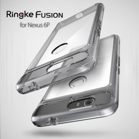 Rearth Ringke Fusion Nexus 6P Case - Crystal View