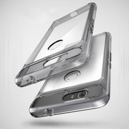 Rearth Ringke Fusion Nexus 6P Case - Smoke Black