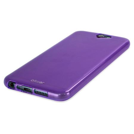 FlexiShield HTC One A9 Gel Case - Purple