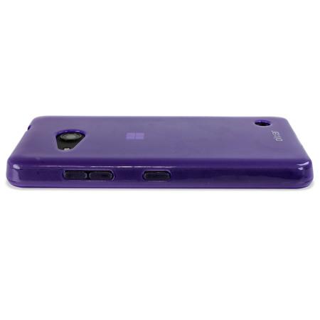 FlexiShield Microsoft Lumia 550 Gel Case - Purple