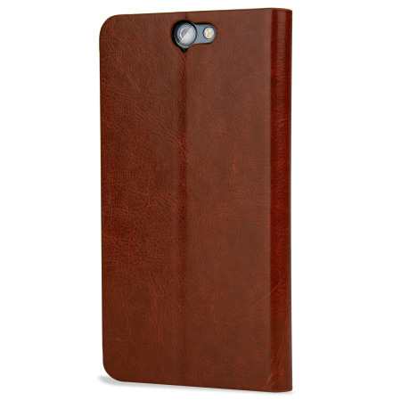 Beta olixar leather style htc 10 wallet stand case brown had