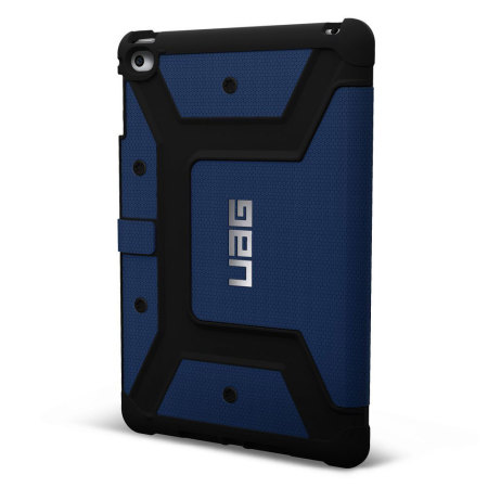 uag scout ipad mini 4 rugged folio case blue pearls