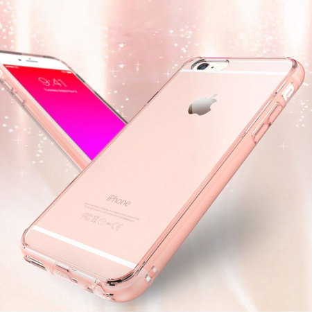 Coque Iphone 6s Plus 6 Plus Rearth Ringke Fusion Rose Gold Crystal