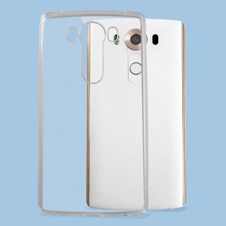 pure flexishield ultra thin lg v10 gel case 100% clear more