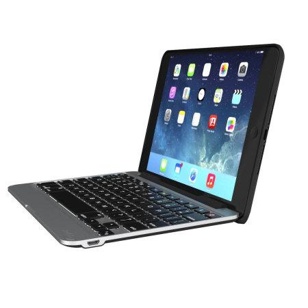 detailed look 549d6 83950 Zagg Slim Book iPad Mini 4 Keyboard Case - Black