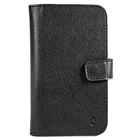 play official doro leather style liberto 825 wallet case black muy parecido