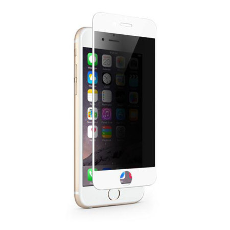 far the cameras moshi ivisor iphone 6s/6 privacy glass screen protector white new pdp