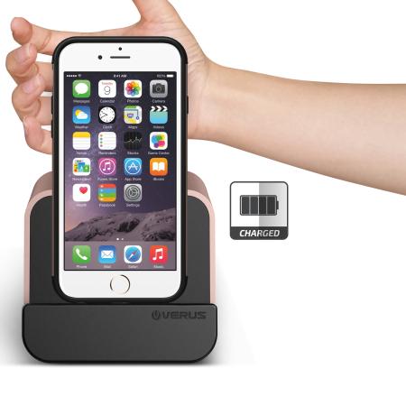 Verus i-Depot Universal Smartphone & Tablet Charging Stand - Rose Gold