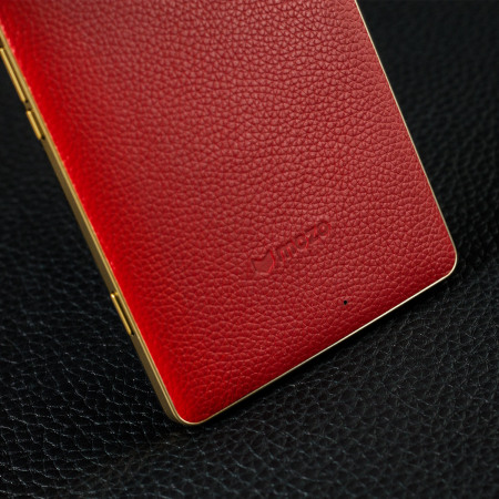 Mozo Microsoft Lumia 950 XL Wireless Charging Back Cover - Red
