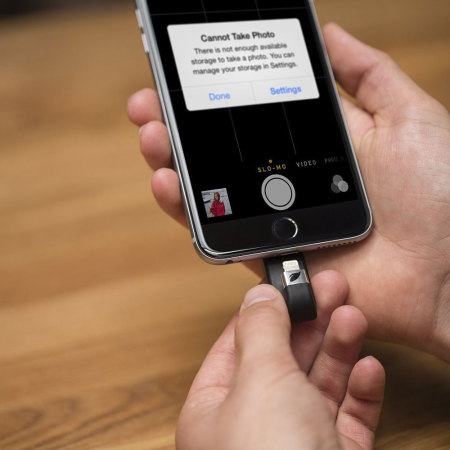 Leef iBridge 256GB Mobile Storage Drive for iOS Devices - Black