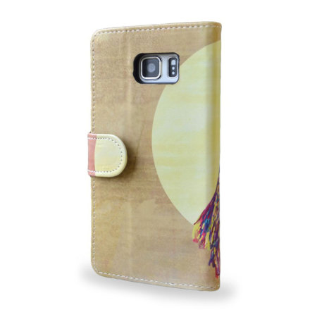 Create and Case Samsung Galaxy Note 5 Stand Case - Watercolour Owl