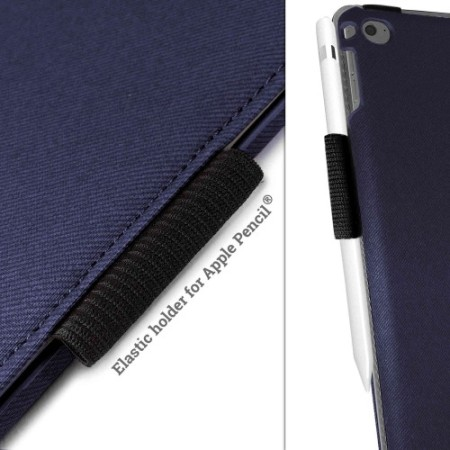 Tuff-Luv Rotating iPad Pro 12.9 inch Case - Navy