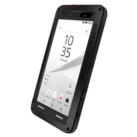 sony xperia z5 compact. love mei powerful sony xperia z5 compact protective case - black