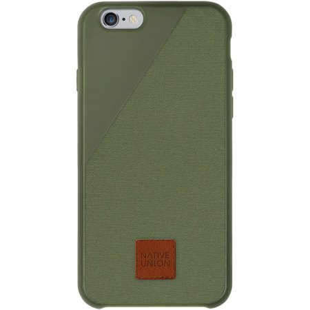 timeless design eeeb4 b3794 Native Union CLIC 360 iPhone 6S Plus / 6 Plus Protective Case - Olive