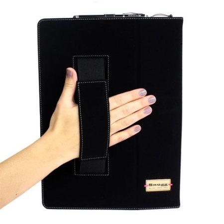 Snugg Leather Style iPad Pro 12.9 inch Case - Black